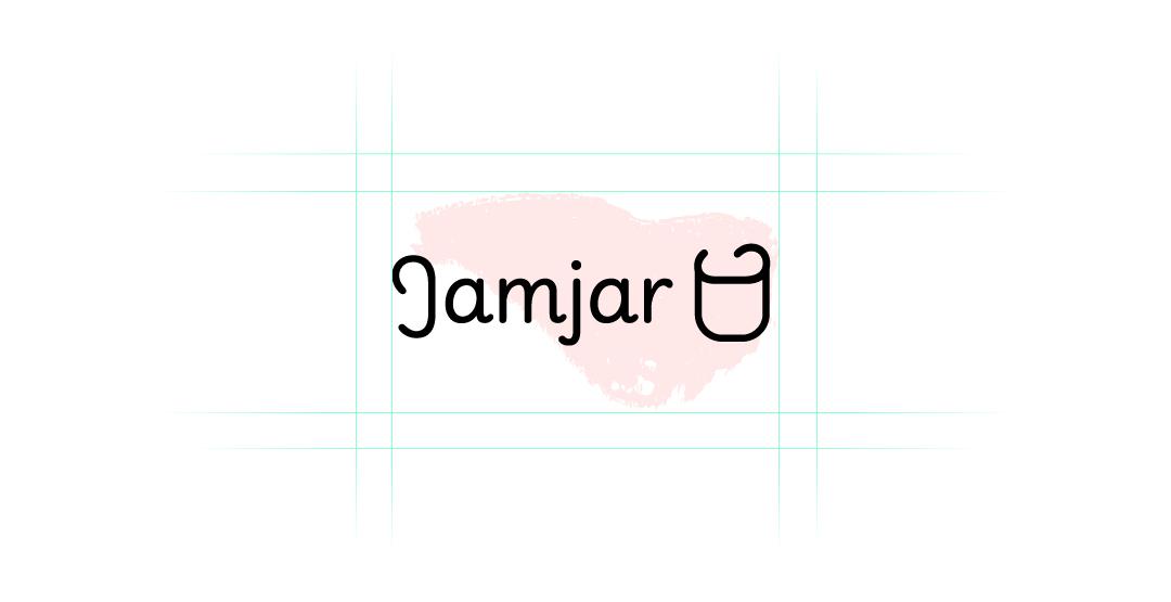 First draft of the Jamjar logo